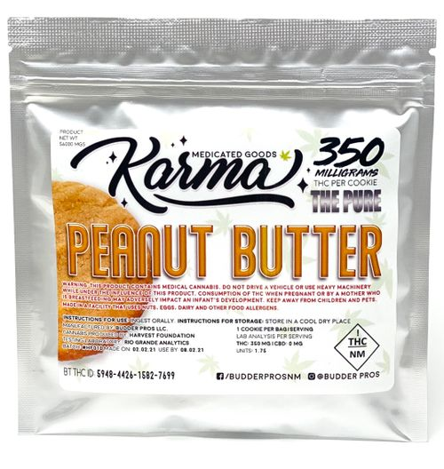 BP Karma Cookie Peanut Butter 350mg