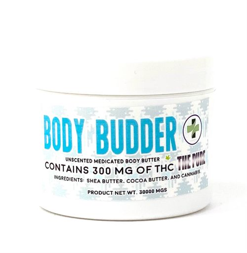 Unscented Body Butter -300mg