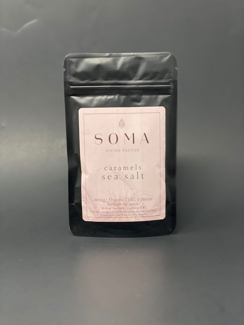 Soma Caramels - Sea Salt (3pcs x 20mg) - 60mg