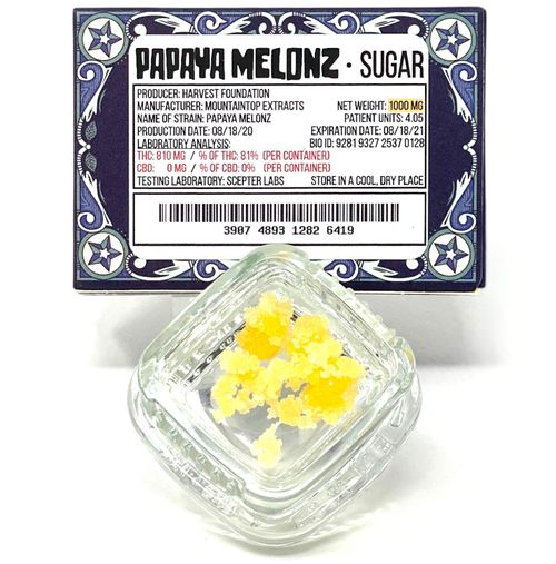 Papaya Melonz Sugar Wax -1g