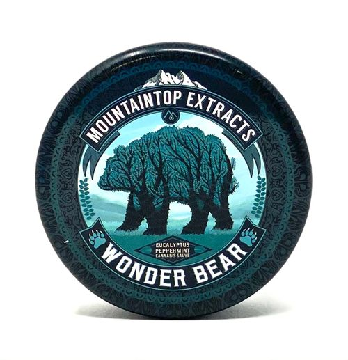Wonderbear Salve 1:1 THC/CBD -250mg