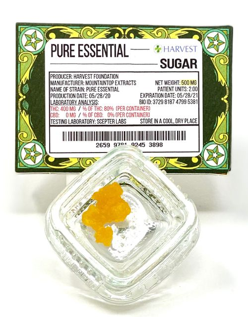 Pure Essential Sugar Wax -.5g