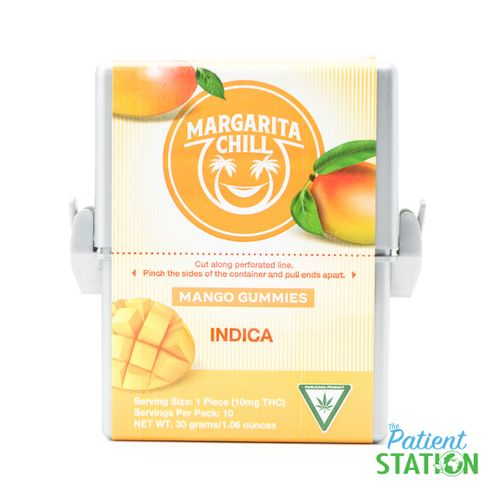 Margarita Chill Mango Gummy (100mg)