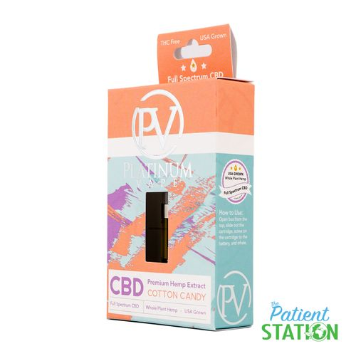 Platinum Vape - CBD Cotton Candy Cartridge (FullGram)