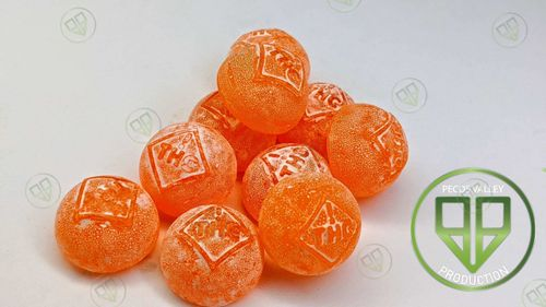 Candy Drops Sour Orange 100mg