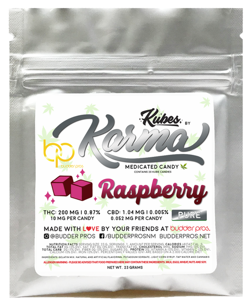 Gummies - Raspberry 200mg