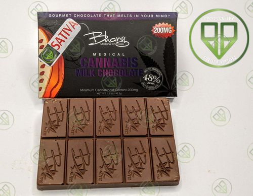 Bhang Milk Bar 200mg THC Sativa