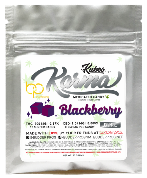 Gummies - Blackberry 200mg
