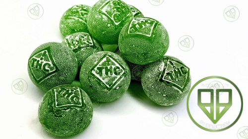 Candy Drops Green Apple 100mg
