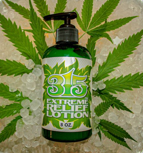 315 Relief 8oz Lotion