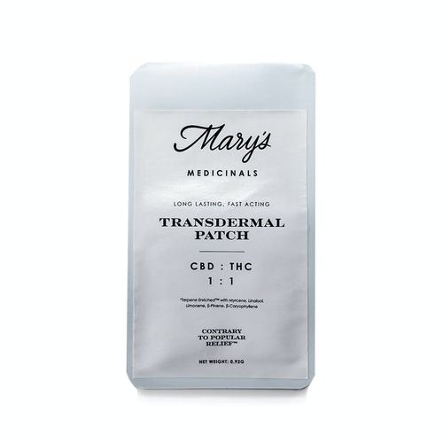 Transdermal Patch - 1:1 CBD:THC