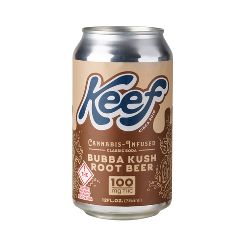 Hybrid Bubba Kush Root Beer 100mg Soda