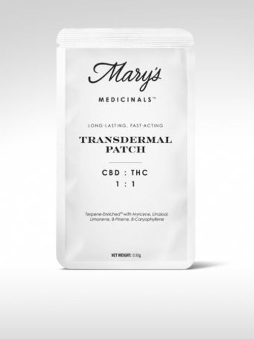 Mary's Medicinals CBD:THC Patch