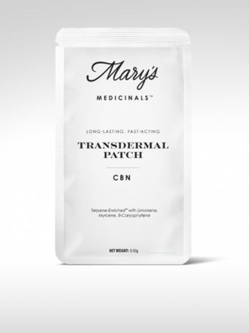 Mary's Medicinals CBN Transdermal Patch