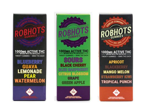 Robhots 100mg Hybrid Gummy Sours