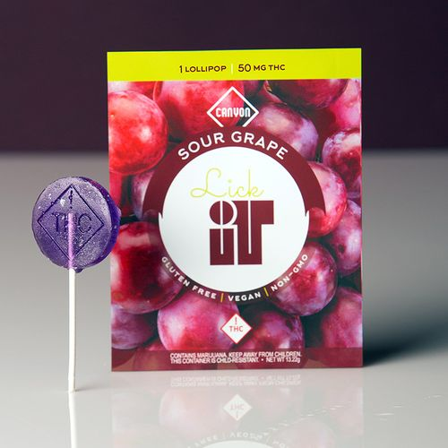 LickIT Grape 50mg Sucker