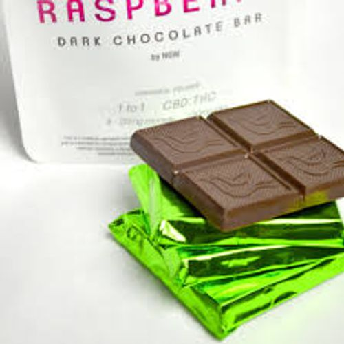 NGW - 1:1 Raspberry Dark Chocolate Bar 25mg x 4pc