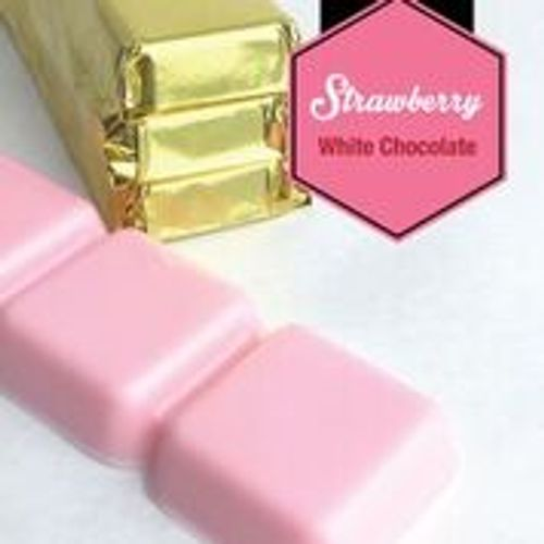 Strawberry White Chocolate Bar