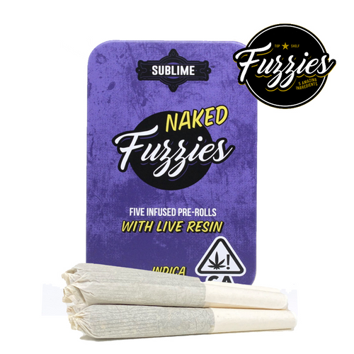 Naked Fuzzies Preroll Pack Minis Indica
