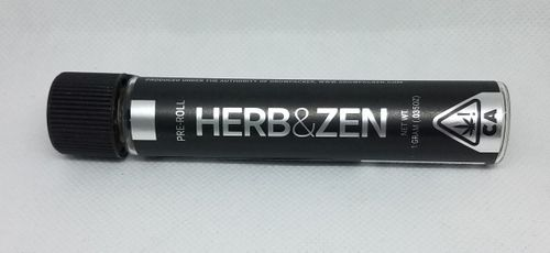 Herb and Zen 1g Preroll Sativa