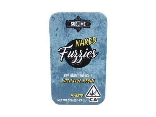 Naked Fuzzies Preroll Pack Minis Hybrid