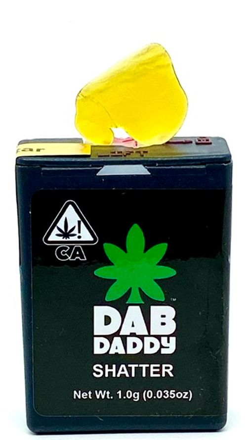 Dab Daddy Shatter 1g (I) Cuvee Cookies