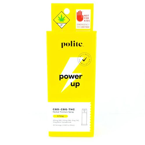 Power Up spray tincture 675mg, Polite