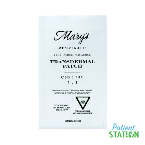 Transdermal 1:1 Patches