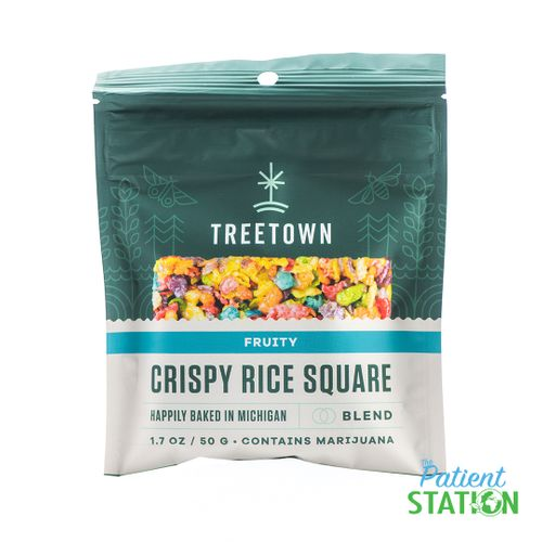 Treetown - Fruity Rice Crispy Square