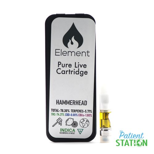 Hammerhead Live Resin Cart (HalfGram)
