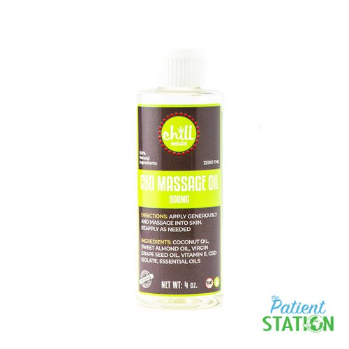CBD Cucumber Melon Massage Oil (500mg)