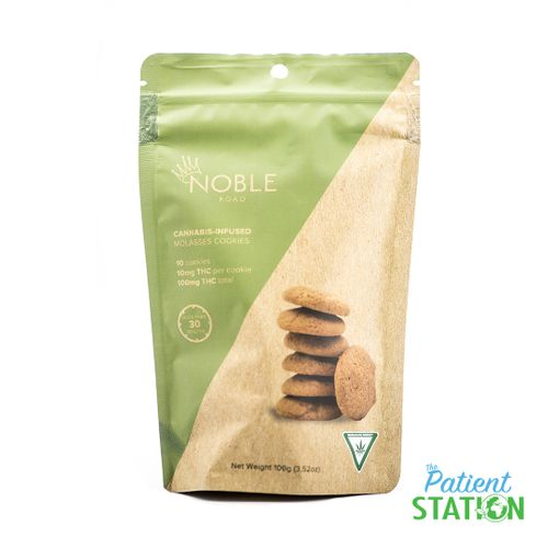 Molasses Cookie Pouch 10pk (100mg)