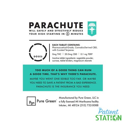 Pure Green - Parachute 2 pack