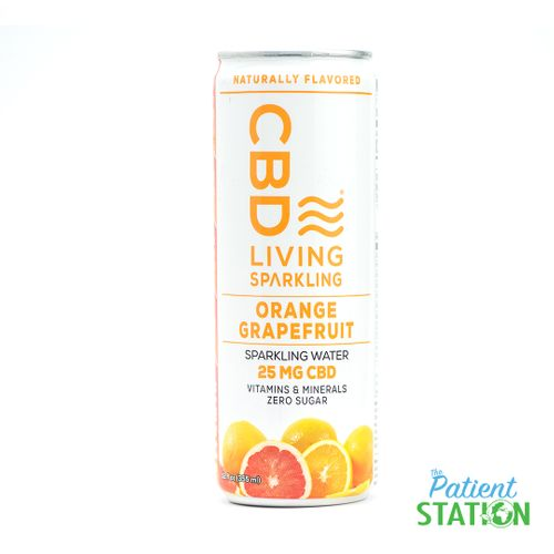 CBD Orange Grapefruit Sparkling Water (25mg)