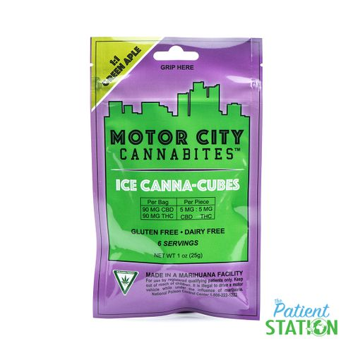 Ice Green Apple Canna Cubes 1:1 (200mg)