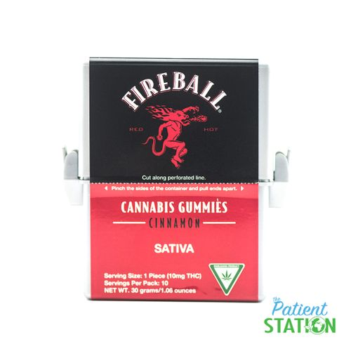 Fireball Gummy (10pk 100mg)