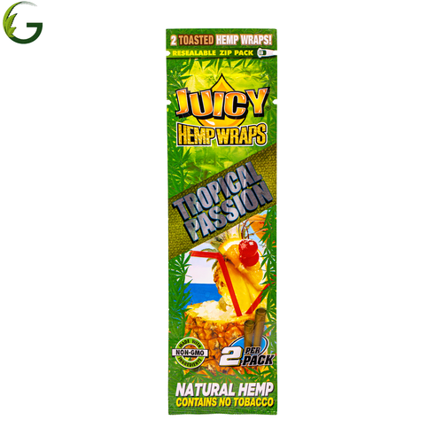 Tropical Passion Hemp Wraps