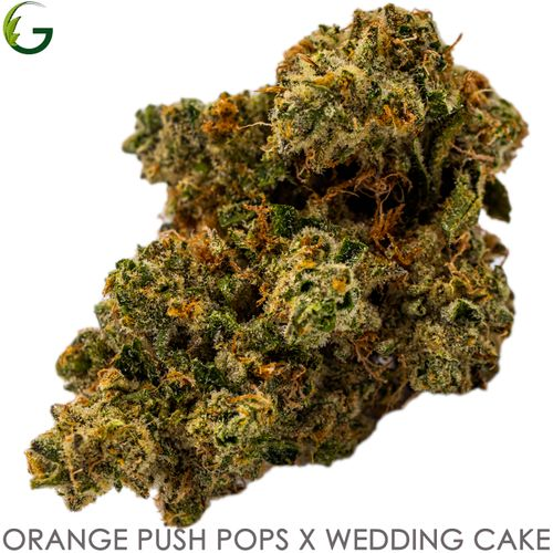 Orange Push Pop x Wedding Cake (H) 3.7g