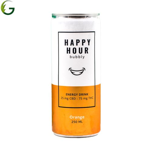 Happy Hour Orange 3:1 75mg