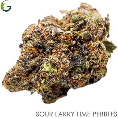 Sour Larry Lime Pebbles (H) 3.5g