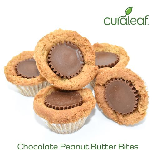 Chocolate Peanut Butter Bites 10557 Edible - 5 Pack (Curaleaf)