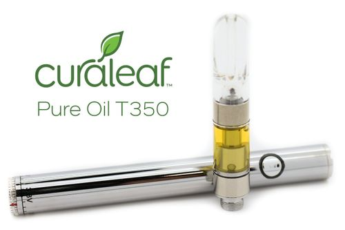 HH Red Pure Oil G C290 T181 CBD Cartridge 10599 (Curaleaf)