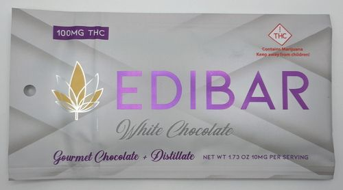 Edibar White Chocolate Bar (H)
