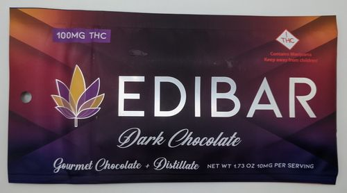 Edibar Dark Chocolate Bar (H)