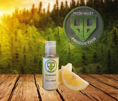 PVP Lemon Gel Hand Sanitizer