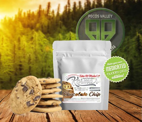 BP Take n Make Chocolate Chip Cookies 300mg THC