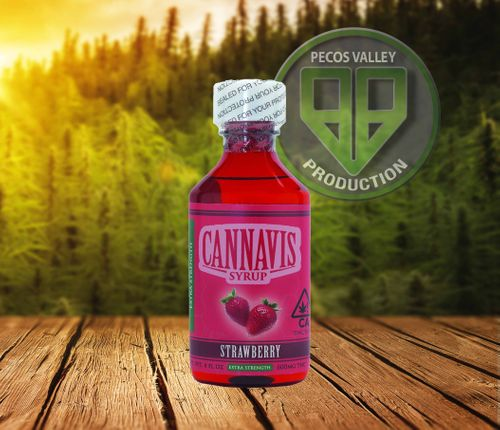 HE-Extracts Cannavis Syrup Strawberry 4oz