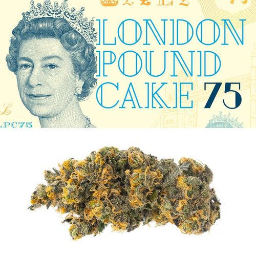 RW Cookies Flower - London Pound Cake 3.5g