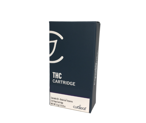 THC Vape Cartridge Blue Dream (Bd)-Hybrid-75% THC-0.5g