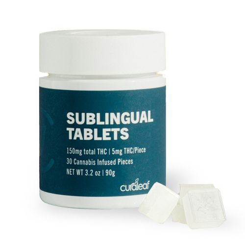 THC Sublingual Tablet- Arctic Berry - 5mg THC - 30 Count - 150mg THC